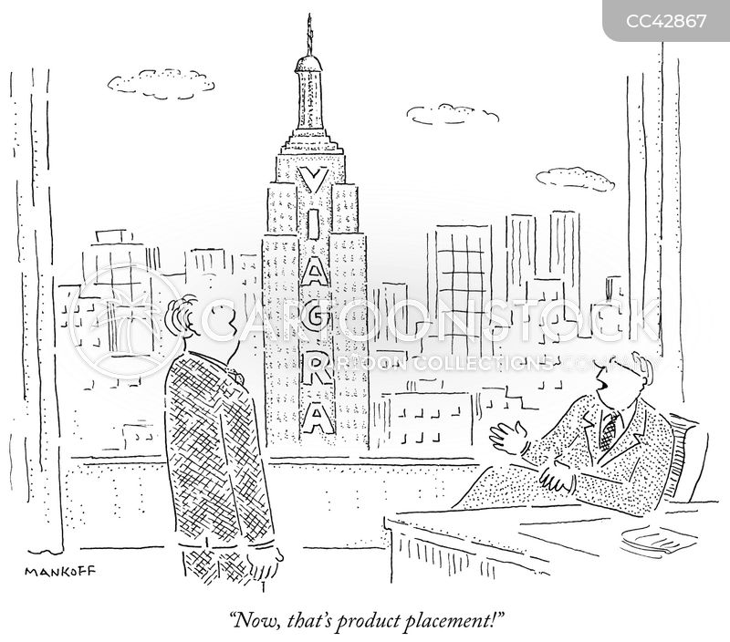 empire state building cartoon