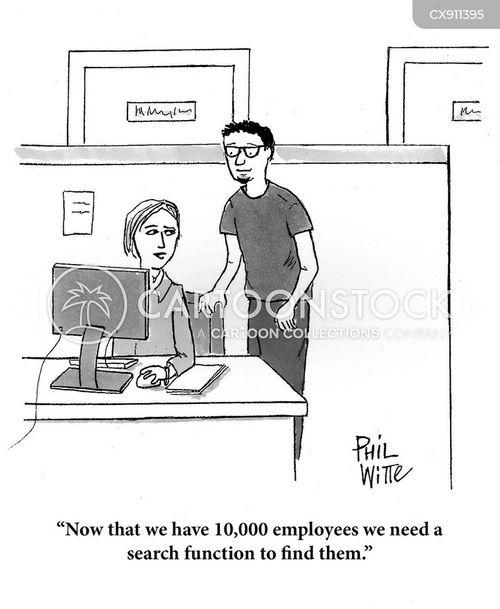 international company cartoon