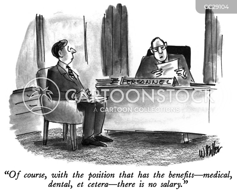 personnel officer cartoon