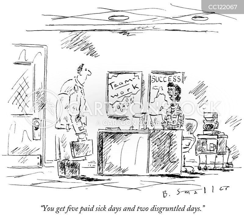 unfulfilling job cartoon