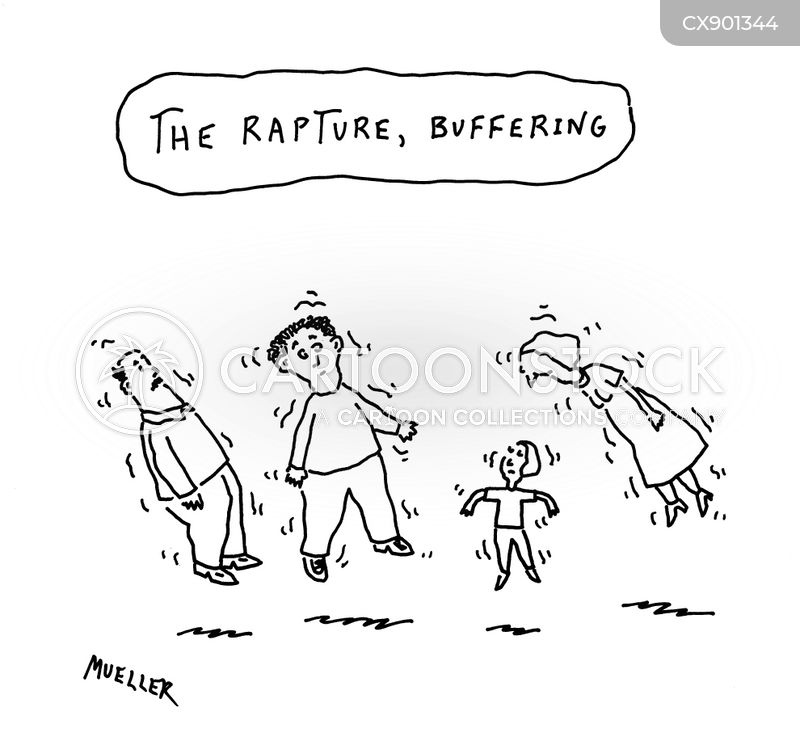 the rapture cartoon