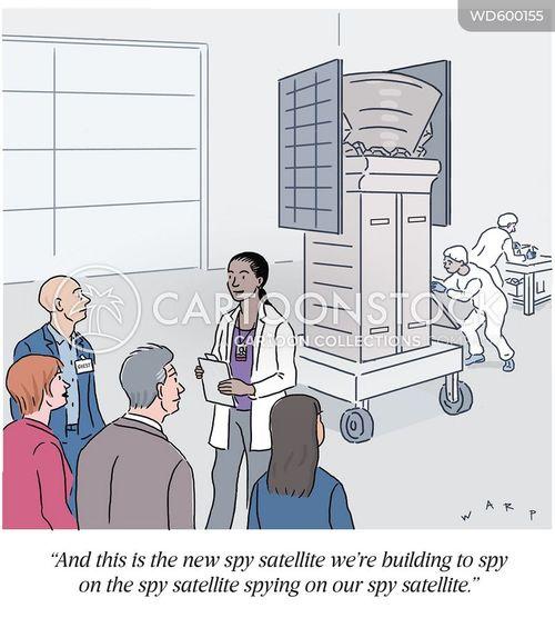 intelligence gathering cartoon