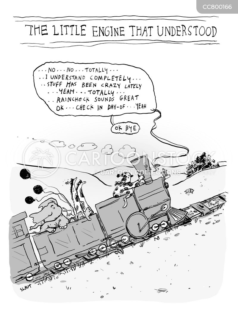 engine cartoon