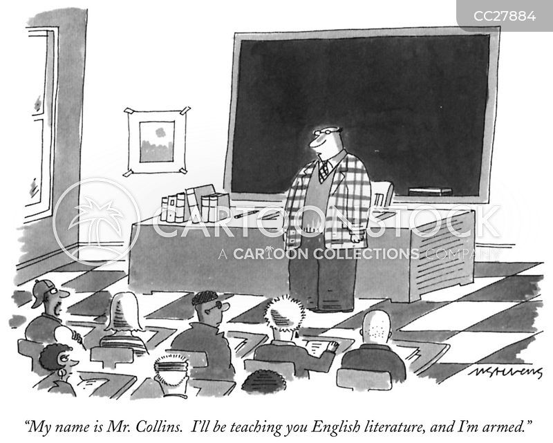 Teacher cartoon