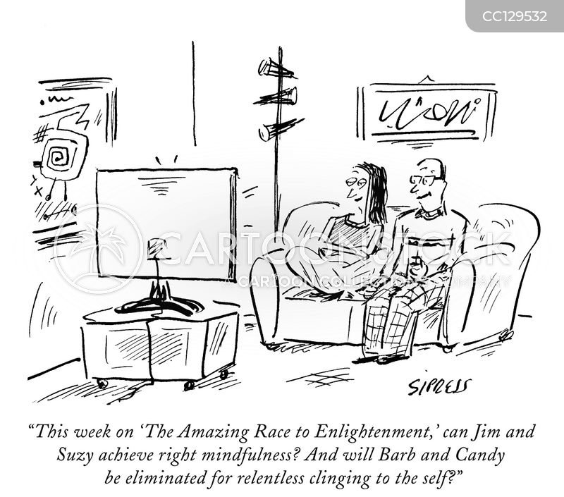 reality t.v. cartoon