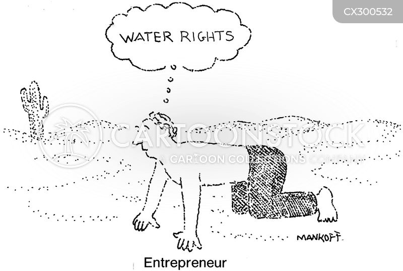 water rights cartoon