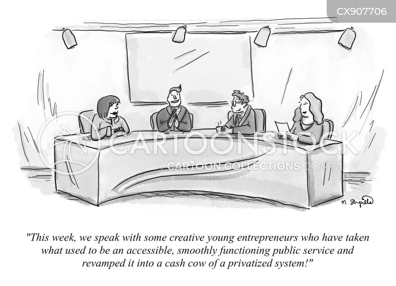 public services cartoon