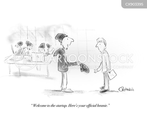 startup cartoon