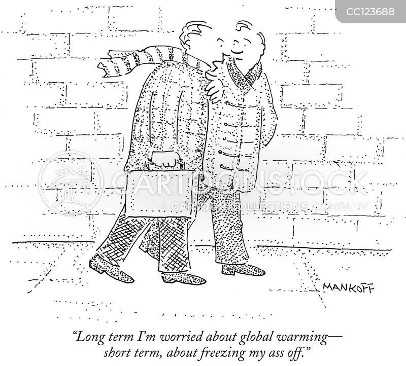 freezing temperatures cartoon