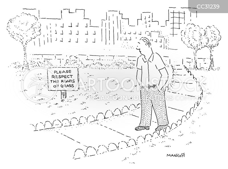 public park cartoon