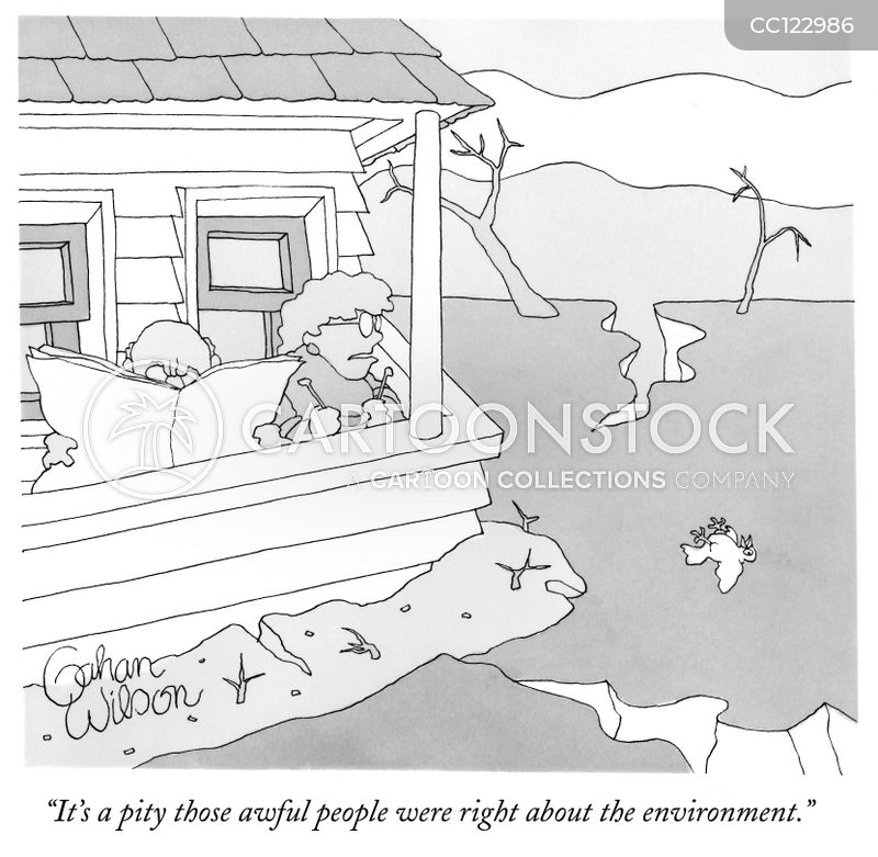 environmental cartoon