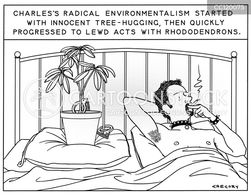 Rhododendron cartoon