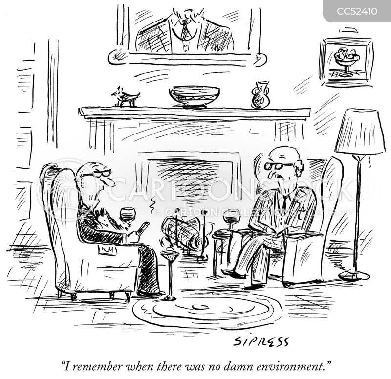 old white men cartoon