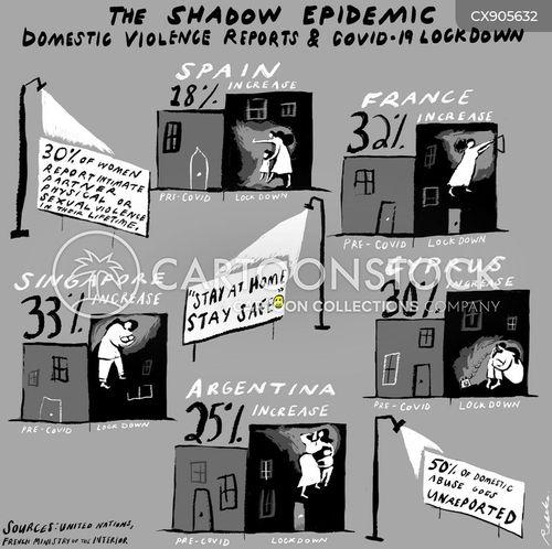 domestic abuse cartoon