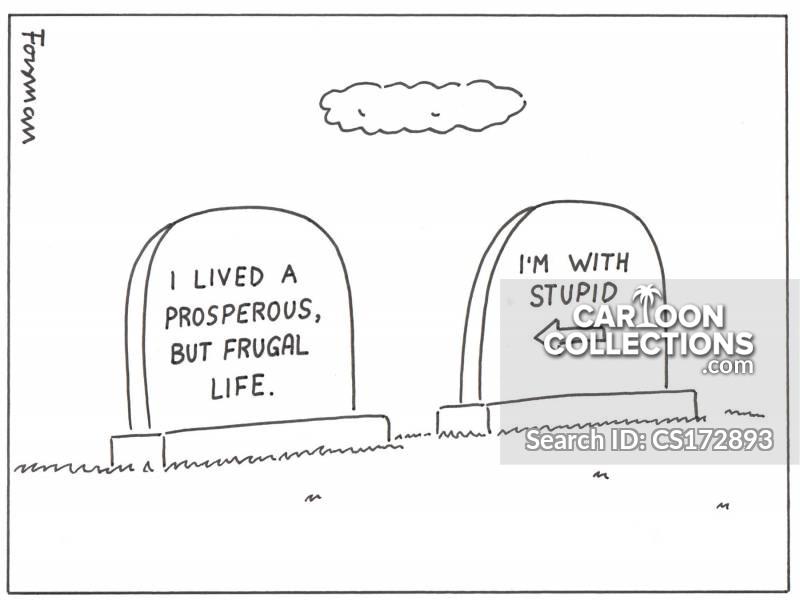 i am with stupid cartoon