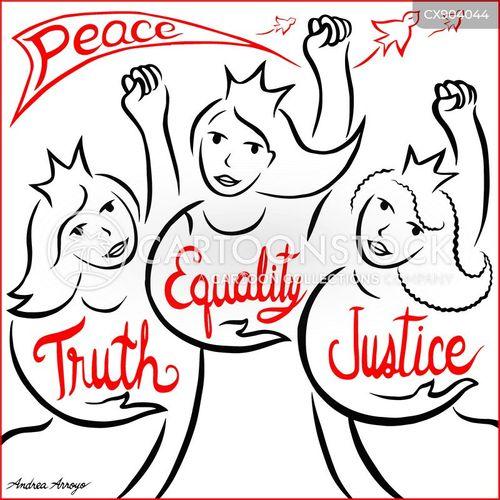 virtues cartoon