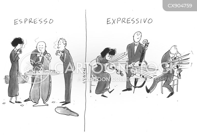 violinists cartoon