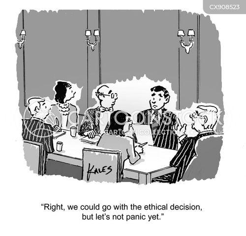 ethics cartoon