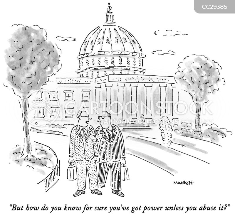 power cartoon