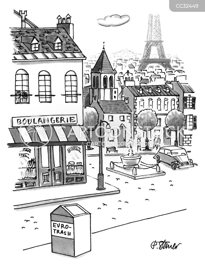 tourist cartoon