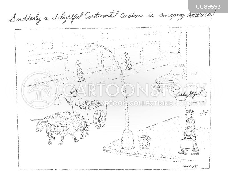 oxcart cartoon