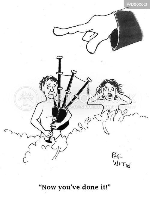 creation story cartoon