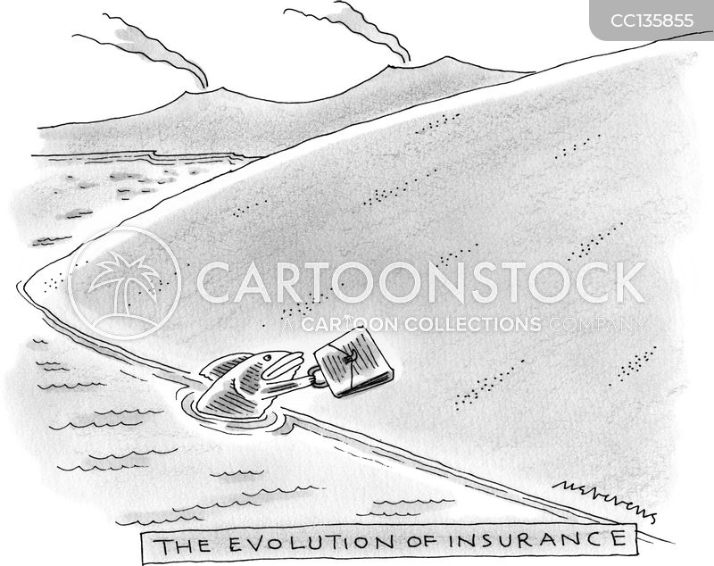 Insurance Salesman cartoon