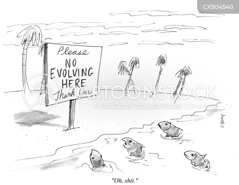 evolves cartoon