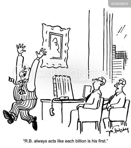 company owners cartoon