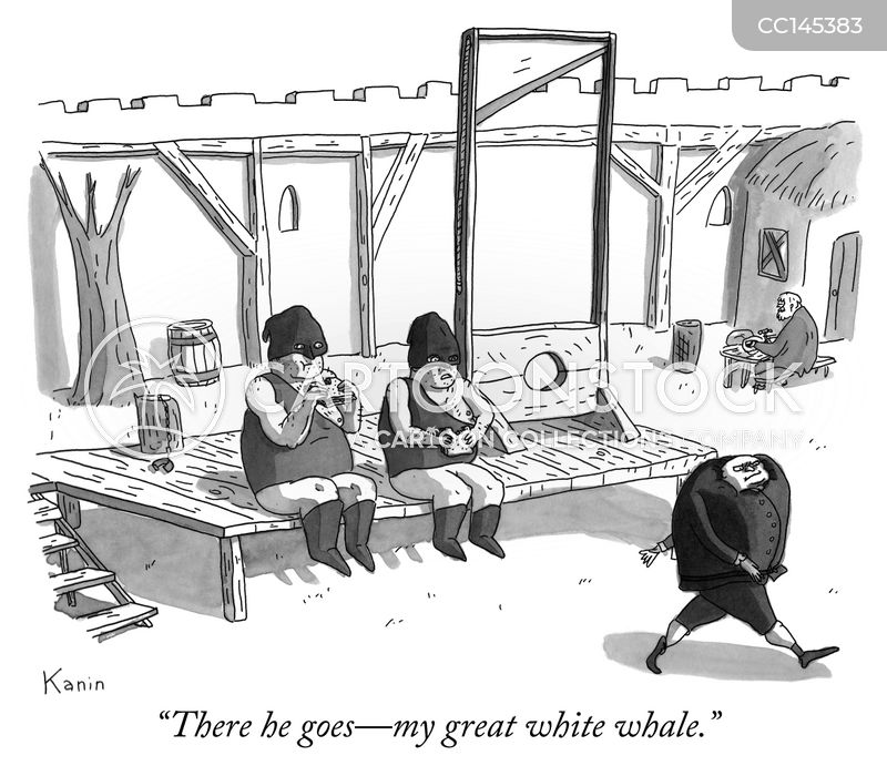 white whale cartoon