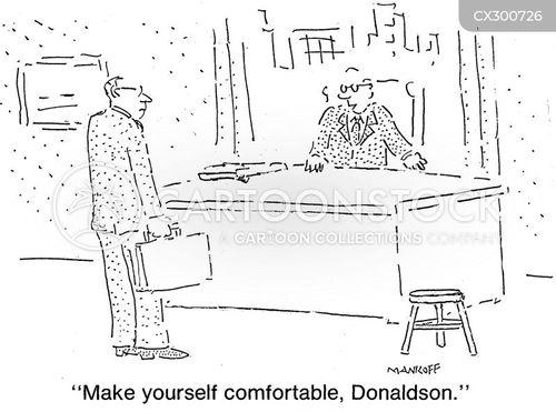 office hierarchy cartoon
