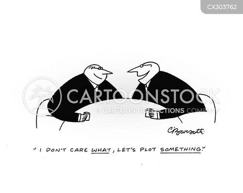 corporate giant cartoon