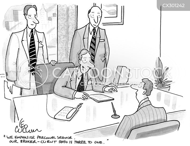 mortgage brokers cartoon