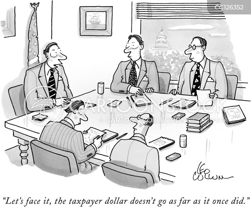 company bailouts cartoon