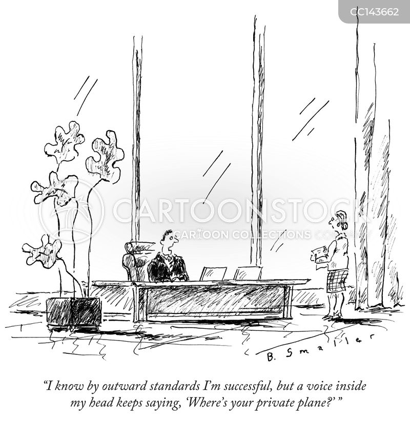 business manager cartoon