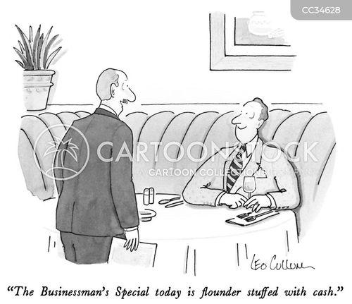 restaurant special cartoon