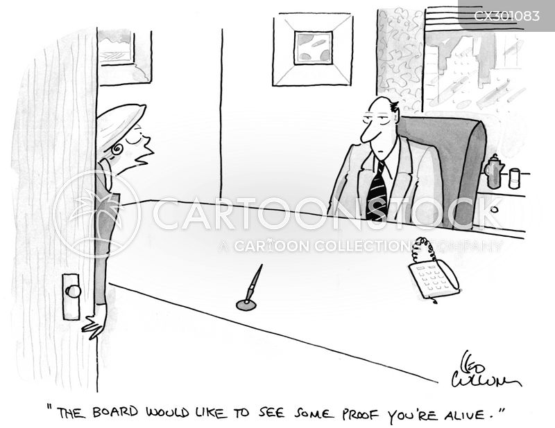 no show jobs cartoon