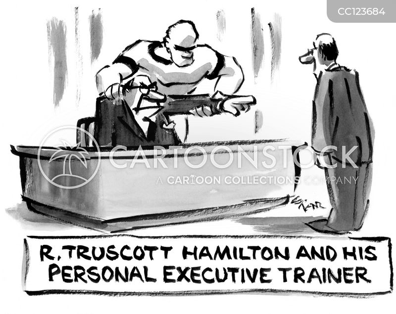 corporate lackeys cartoon