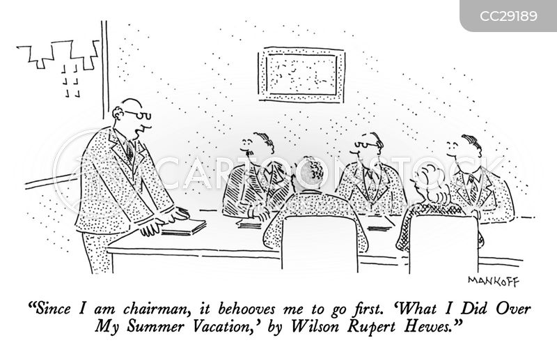 chairman cartoon