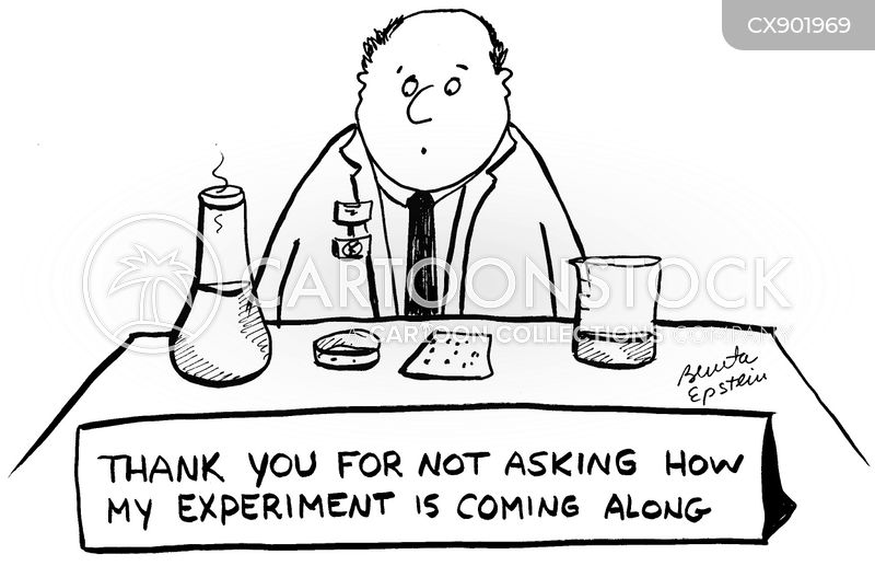 scientific data cartoon