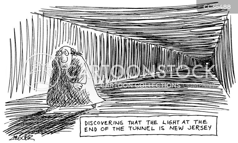 Light At The End Of The Tunnel Cartoons and Comics - funny pictures from  Cartoon Collections