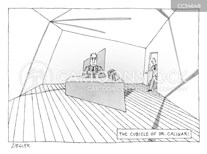 office layout cartoon