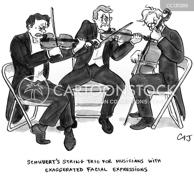violinist cartoon