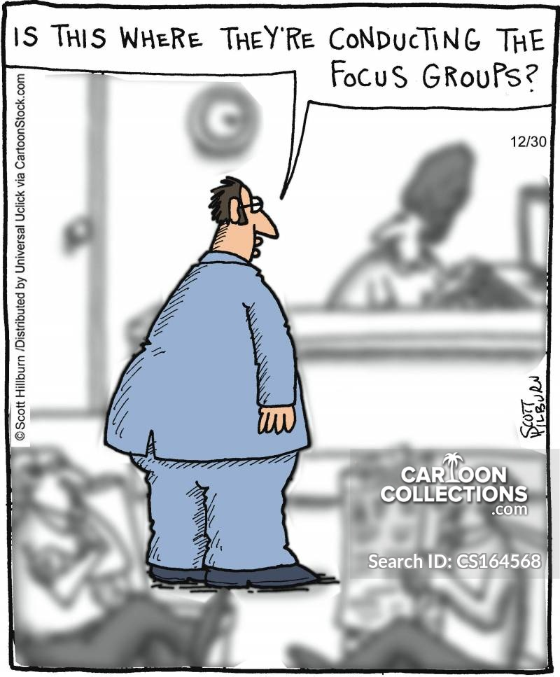 research groups cartoon