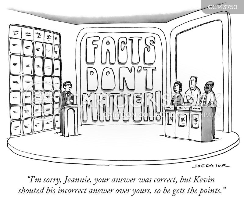 Alternative Facts cartoon