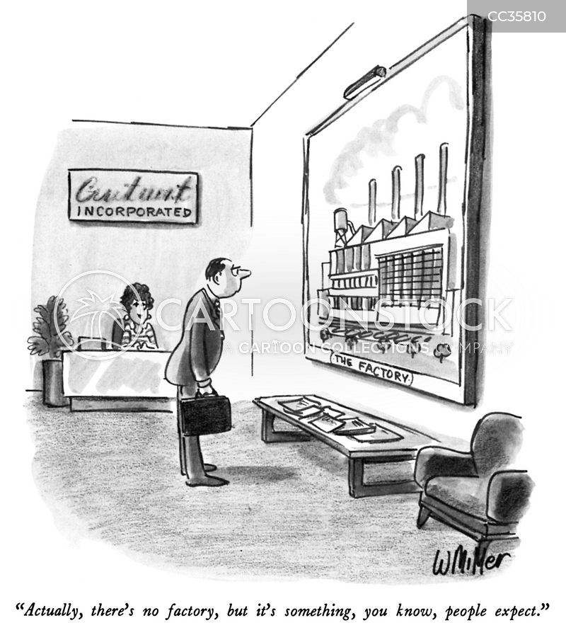 waiting areas cartoon