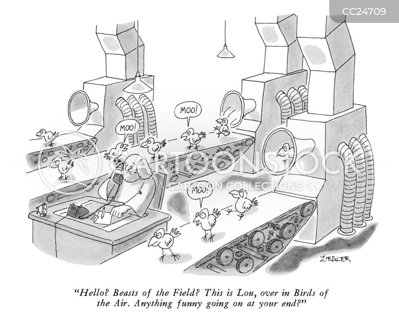 Production Line cartoon