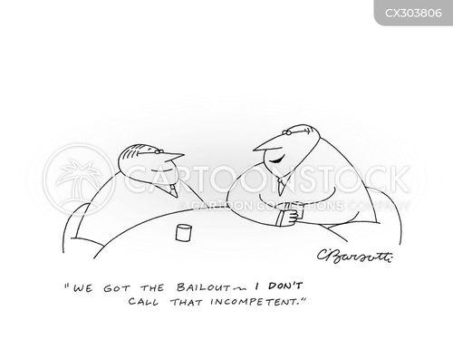 financial assistance cartoon