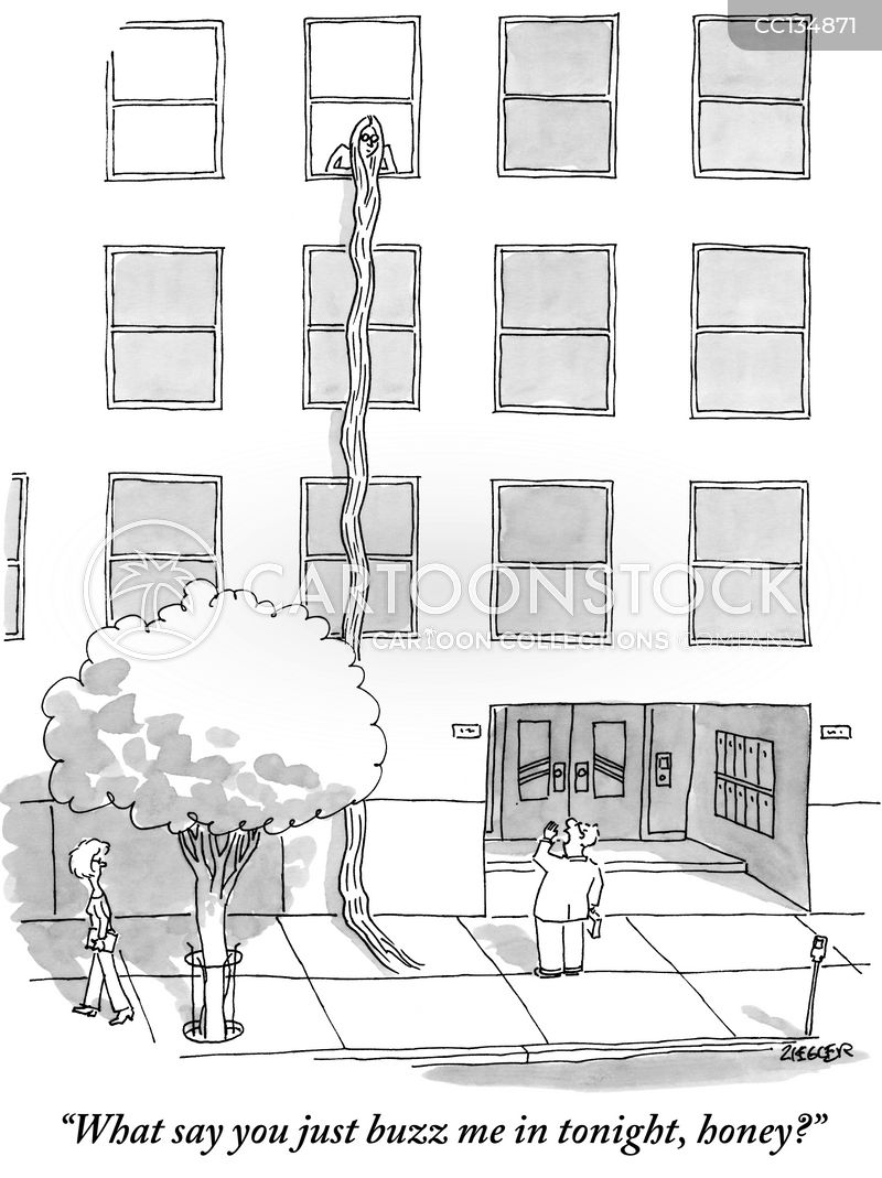 Apartment Blocks cartoon