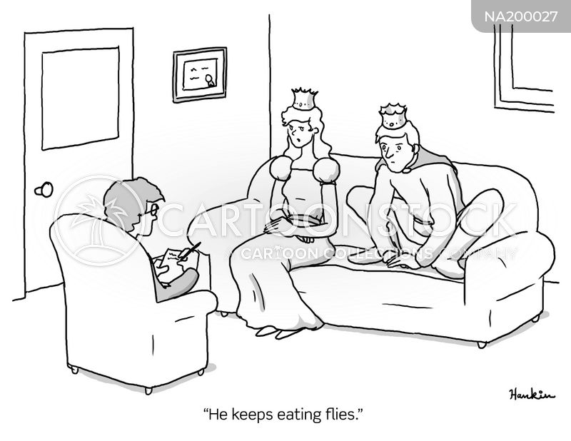 couples counseling cartoon